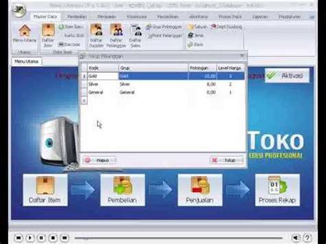 tutorial program toko ipos 4 33 cara membuat diskon pada pelanggan tutorial ipos 4 0