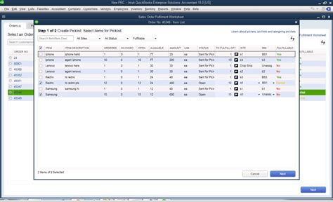 list of software inventory management software system quickbooks desktop