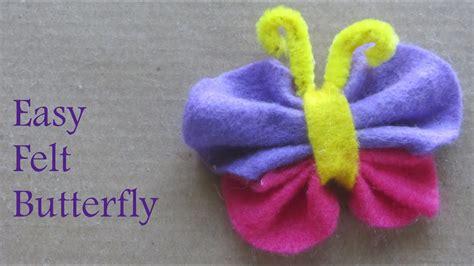 crafts felt how to make felt butterfly craft ideas