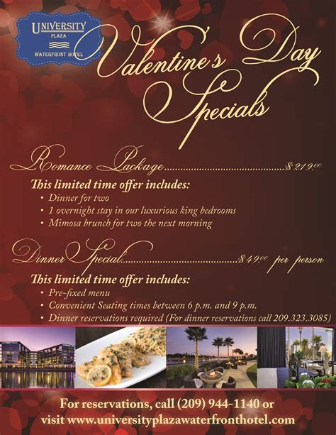 tips and hotel specials for valentines day 2014