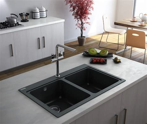 Modernise with a black kitchen sink