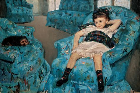Cassatt In Blue Armchair 301 moved permanently