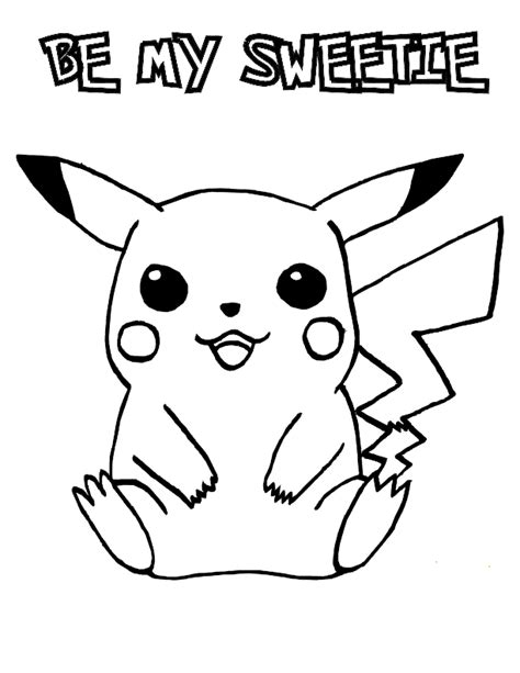 pokemon valentine coloring pages free printable valentine s day coloring pages