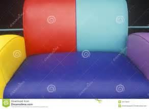 multi colored leather sofa stock photos image 23178943