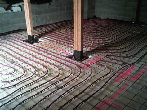 underfloor heating system installations plumbing