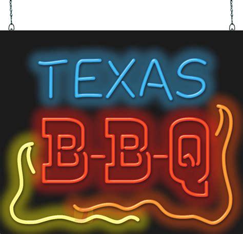 texas bbq neon sign fb   jantec neon