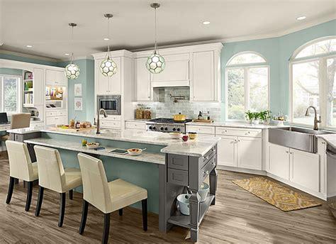 Ordering Kitchen Cabinets Online by Maple Kitchen In Dove White Kraftmaid