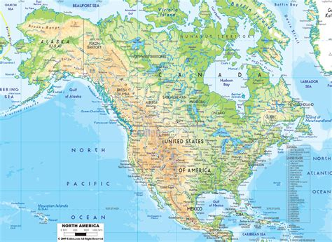 detailed america map detailed physical map of america with roads and