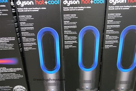 dyson fan heater costco dyson cool bladeless heater fan am04 frugal hotspot