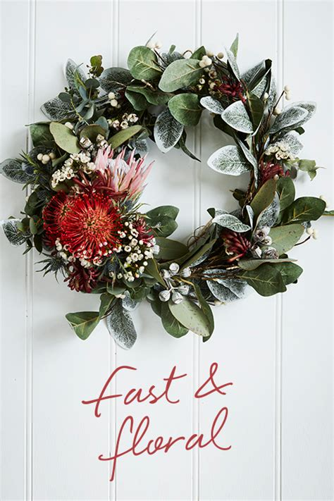 easy christmas wreaths    home temple webster