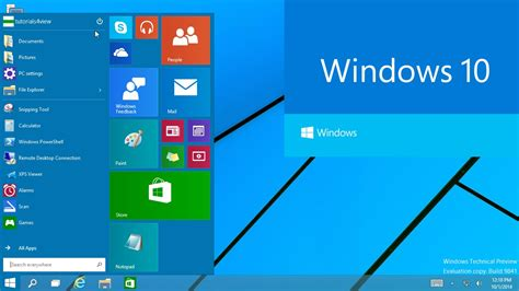 windows 10 release tutorial windows 10 technical preview first look tutorial 30 9