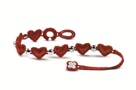 valentines bracelets valentine s day macram 233 bracelet damiani x cruciani