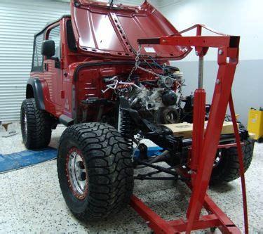 novak guide  installing chevrolet gm engines   jeep tj lj wranglers jeep