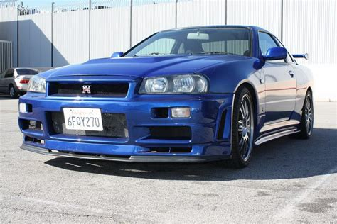 nissan california set up fast furious set nissan skyline gt r r34 replica