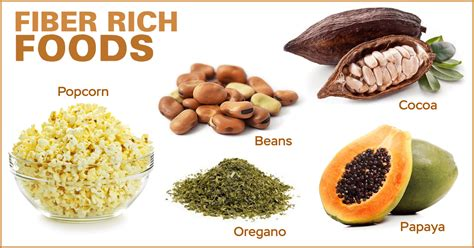 Importance Of High Fiber And Low Foods by The Importance Of Fiber In Diet