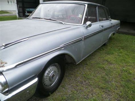 1962 Ford Galaxie 500 4 Door Sedan by Sell Used 1962 Ford Galaxie 500 Sedan 6 4l Gray 4 Door