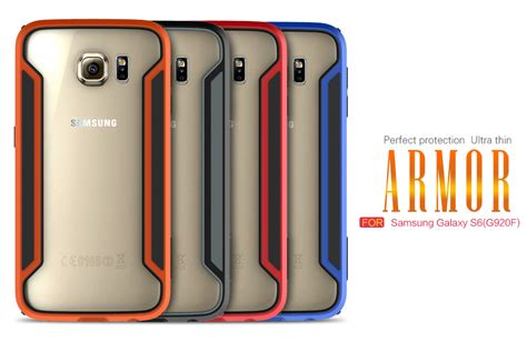 Samsung Galaxy S6 Armor Bumper Casing Cover Sarung Gagah bumper nillkin samsung galaxy s6 armor border series
