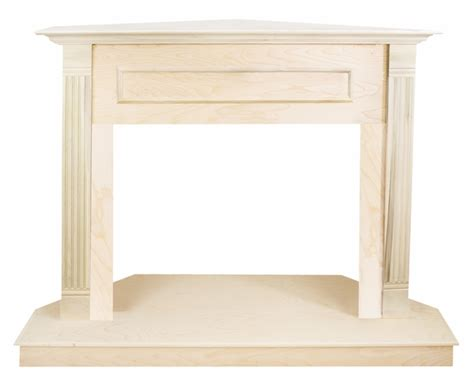 Unfinished Wood Fireplace Mantels by Vantage Hearth 32 Inch Unfinished Traditional Wooden