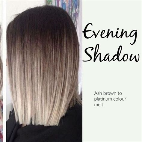 platinum and ash brown hair so in love with this ash brown to platinum ombr 233 hair