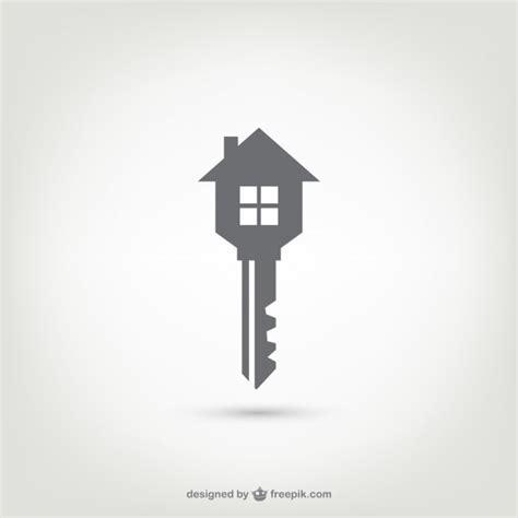 house logo design vector key house logo vector free