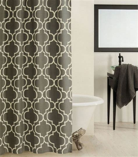 charcoal gray shower curtain 1000 ideas about gray shower curtains on pinterest