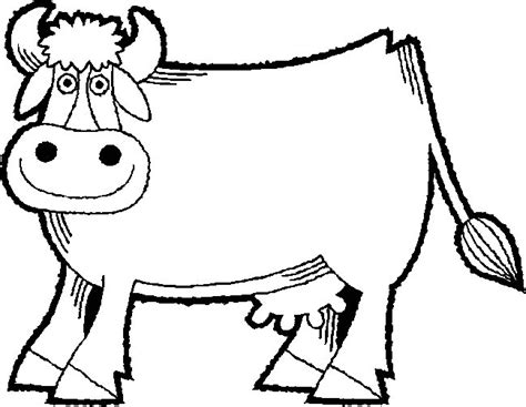 cow coloring pages free printable cow coloring pages
