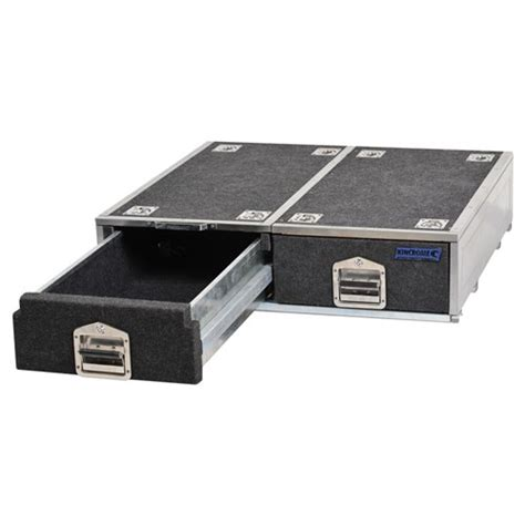 Car Storage Drawers vehicle drawer system 2 drawer vehicle storage 46 kincrome australia pty ltd kincrome
