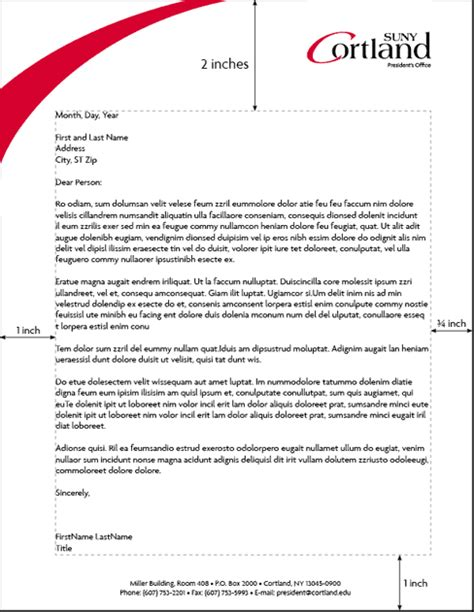 a proper letter format example basic job appication letter