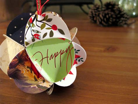 tutorial crafting a holiday card keepsake ornament