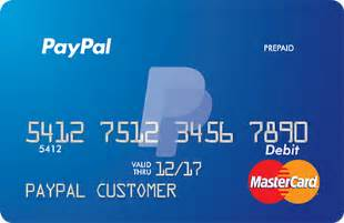 Paypal prepaid mastercard the reloadable debit card from paypal