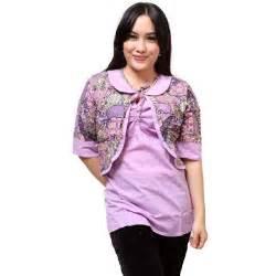 Im042 Celana Polos Wanita Model 20 model baju batik atasan kombinasi kain polos terbaru