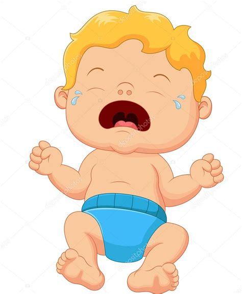 imagenes llorando en caricatura dibujos animados de beb 233 llorando archivo im 225 genes