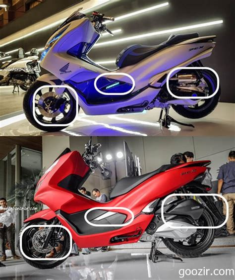 Pcx 2018 Modif by Modif Honda Pcx 150 Futuristik Tekno Informasi Otomotif