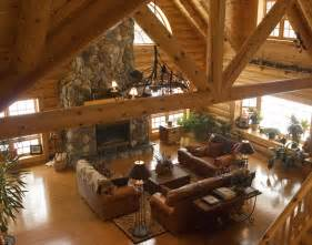 log home interiors images log home interior tourbuzz
