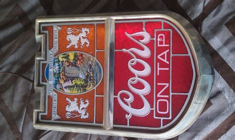 vintage coors light up sign vintage coors beer light up sign collectors weekly