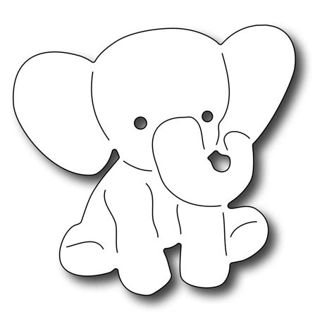 elephant cut out template elephant template www imgkid the image kid