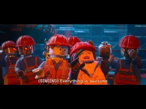 film robot youtube the lego movie everything is awesome robot scene