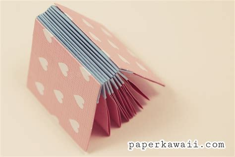 Make An Origami Book - origami book blizzard style tutorial 183 how to make a bound