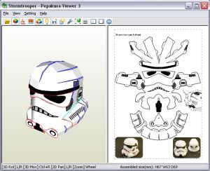Papercraft Helmet Pdf - paperbotz papercraft botz and more page 4