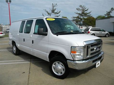 sell used 2008 ford e150 cargo w sleeper second row