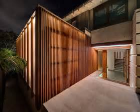 Building A Awning Over A Deck Australian Home With Spotted Gum Wood Details And Pool