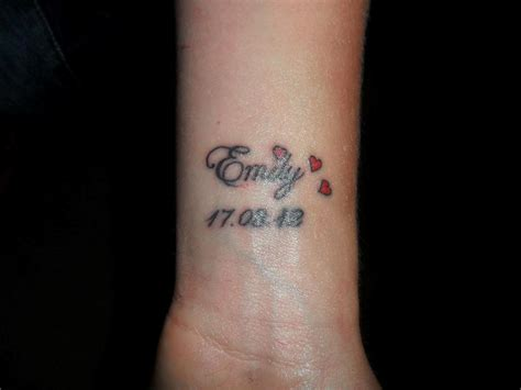 tattoo designs on wrist names 35 graceful name tattoos for your wrist