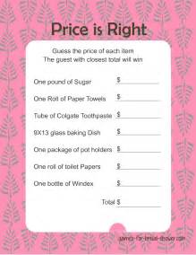 price is right bridal shower game girls wallpaper