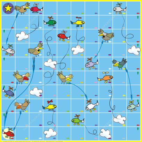 free printable winter board games board game with birds and planes free printable
