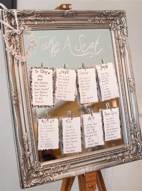 wedding plans and ideas alternative table plan ideas wasing park