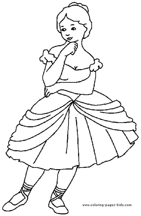 child ballerina coloring page ballerina coloring pages for kids