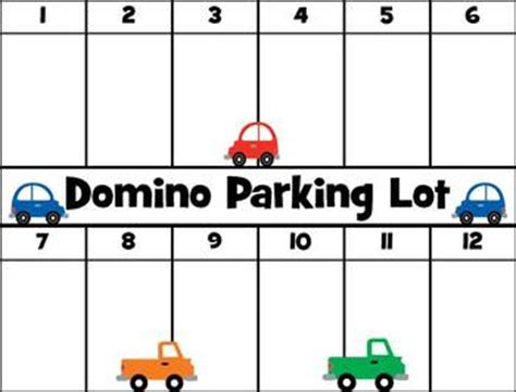 domino parking lot game by cherie lennex teachers pay