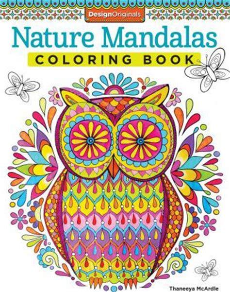 mandala coloring book tips nature mandalas coloring book thaneeya mcardle