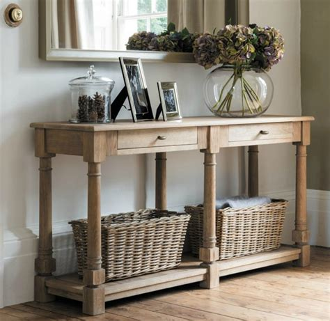 Hallway Console Table by Creating A Soulful Hallway With A Console Table