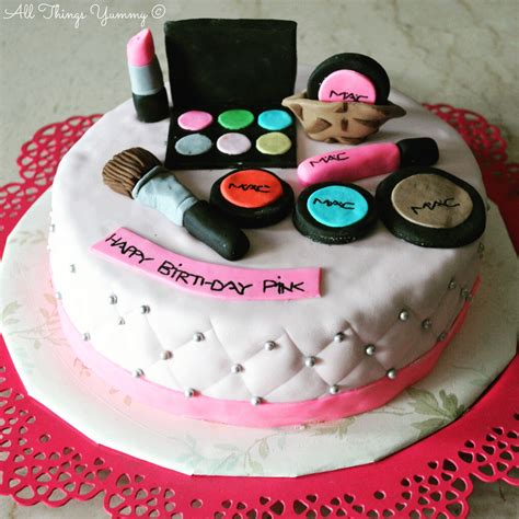 birthday themed makeup buy customised makeup theme cake online in delhi ncr